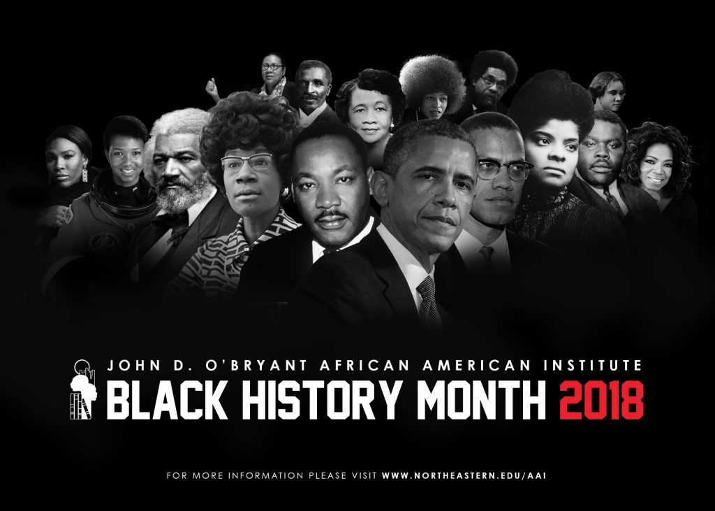 2018 black history month schedule