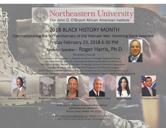 The 50th Anniversary of the Vietnam War: In Honor of Black Veterans