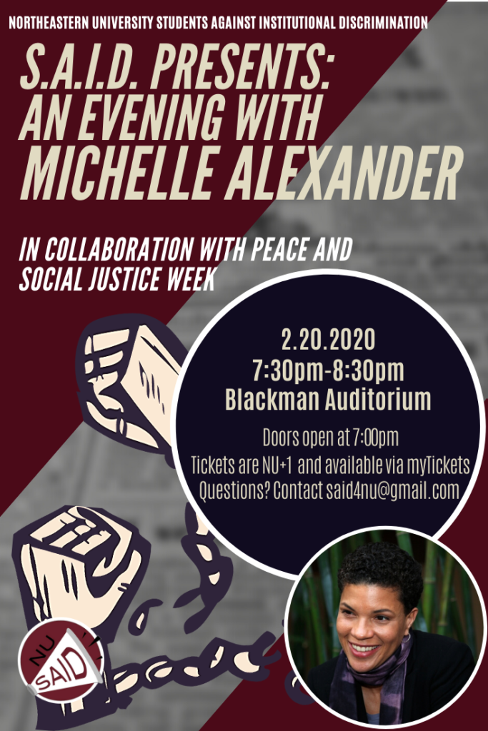 SAID Michelle Alexander Flyer