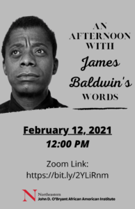 An Afternoon With James Baldwin's Words 2
