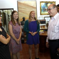President Aoun Visits Co-op Students in Cuba