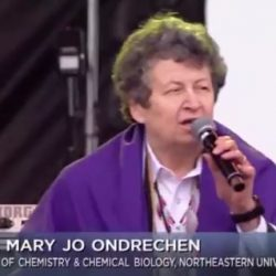 Dr. Mary Jo Ondrechan Speaks at March For Science