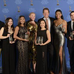 Northeastern student-journalists shine at New England Emmy Awards