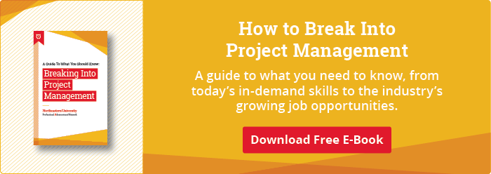 Download Our Free Guide to Breaking Into Project Management