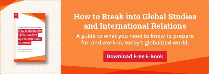 Download Our Free Guide to Breaking into Global Studies and International Relations
