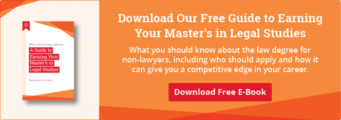 "Download Our Free Guide to Earning Your Master's in Legal Studies"" width="