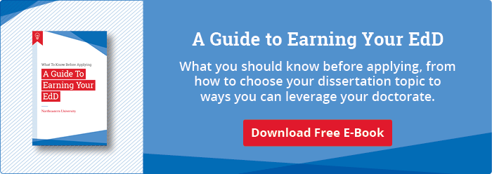 Download Our Free Guide to Earning Your EdD