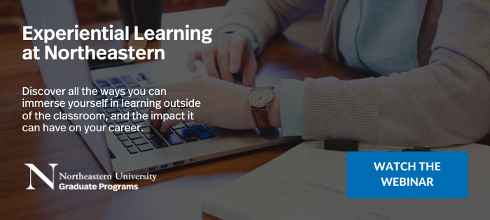 Experiential learning webinar banner