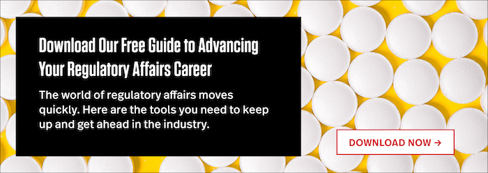 """Download Our Free Guide to Breaking into Regulatory Affairs"""" width="""