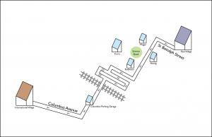 Bin-friendly map from East Village