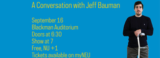 CUP Presents: A Conversation with Jeff Bauman
