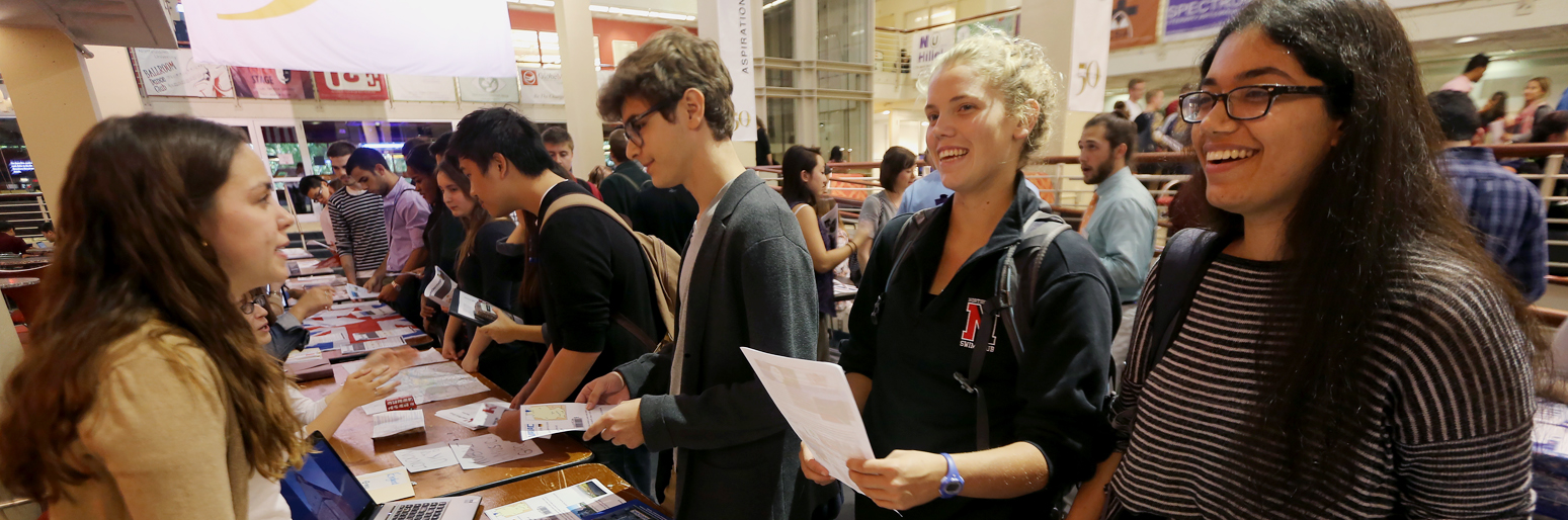 Students explore global opportunities at co-op fair