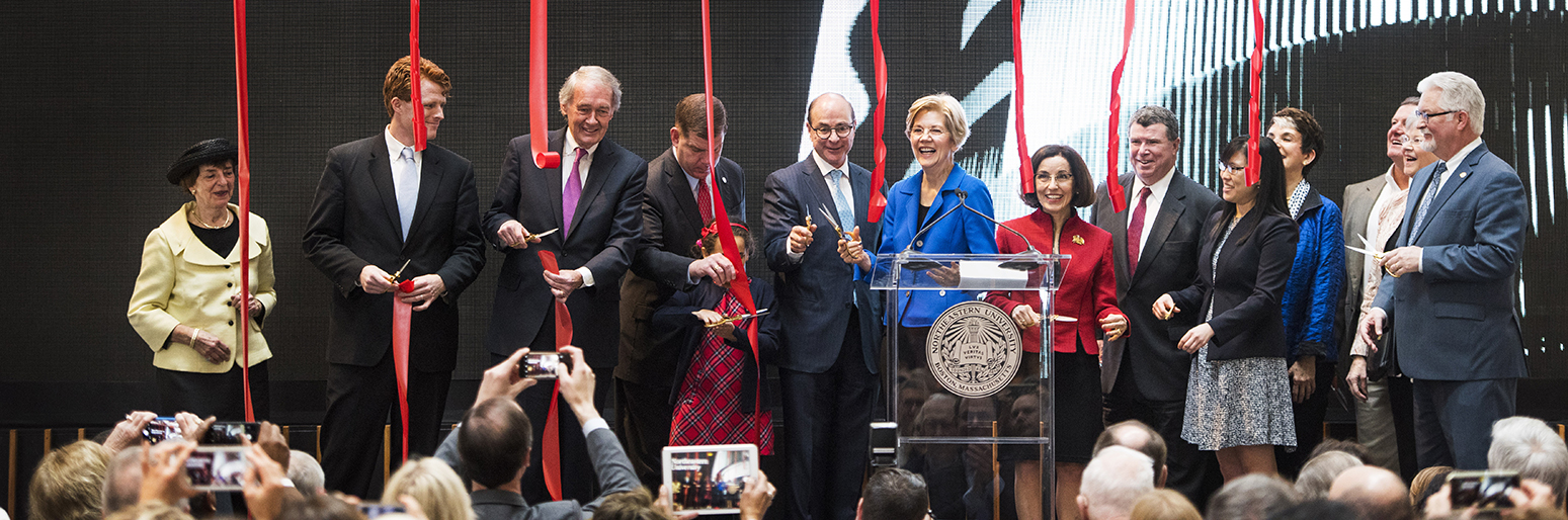 ISEC opening ushers in new era of discovery at Northeastern