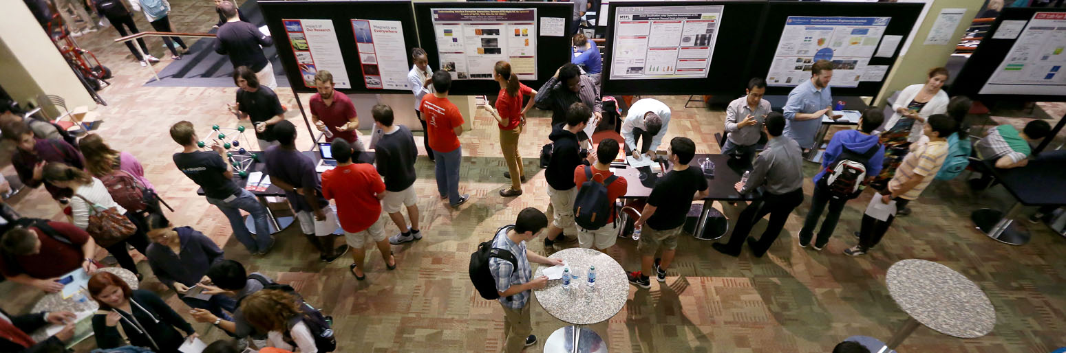 Engineering research fair attracts hundreds of undergrads