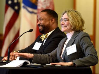 Northeastern, employer partners engage on academic plan