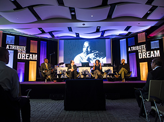 MLK tribute honors King's legacy, examines race in America