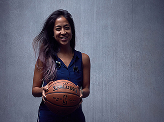 In NBA front office, alumna connects players and fans