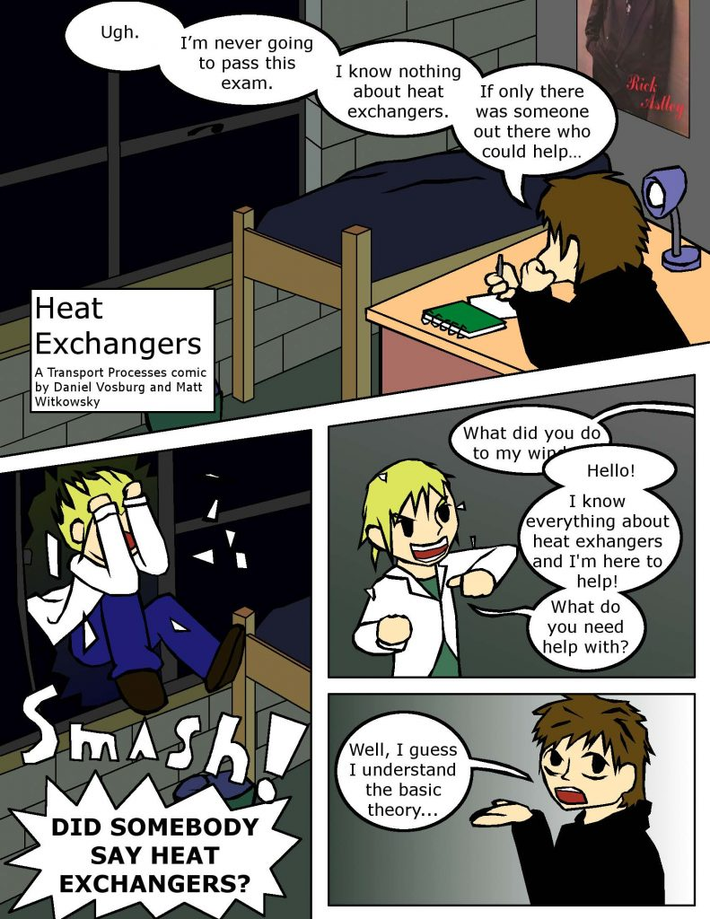 Heat Exchangers comic by Vosburg_Page_1