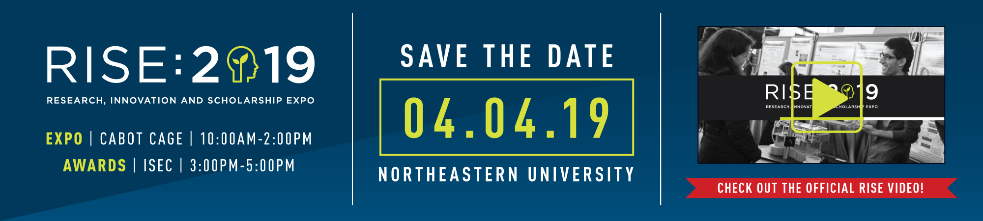 RISE 2019 Save The Date