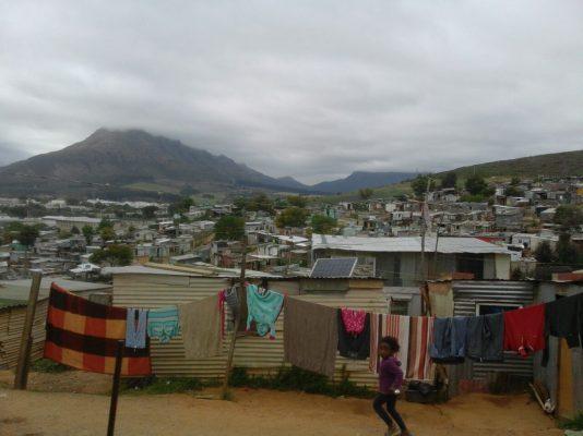 South Africa enkanini Township