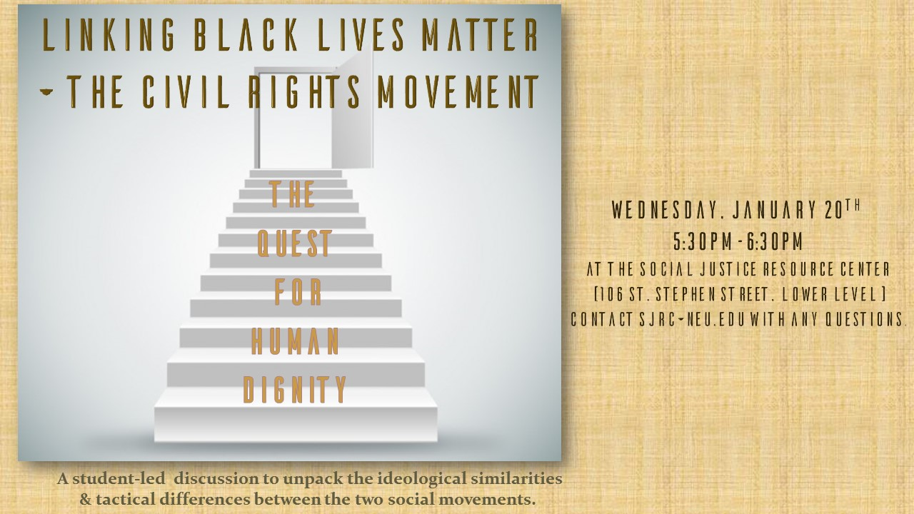 Flyer  Linking BLM and the Civil Rights Movement Flyer
