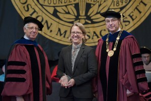 Professor Cram awarded teaching honors.