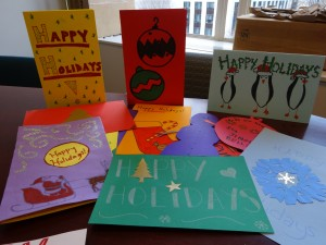 Holiday cards.