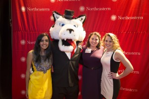 PAWS and University Scholars Juhi Daryani, Kelli Lynch, and Hannah Bergam