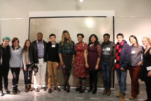 Scholars meet actress and advocate Laverne Cox.