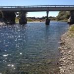 How has development changed the Mangatainoka River?