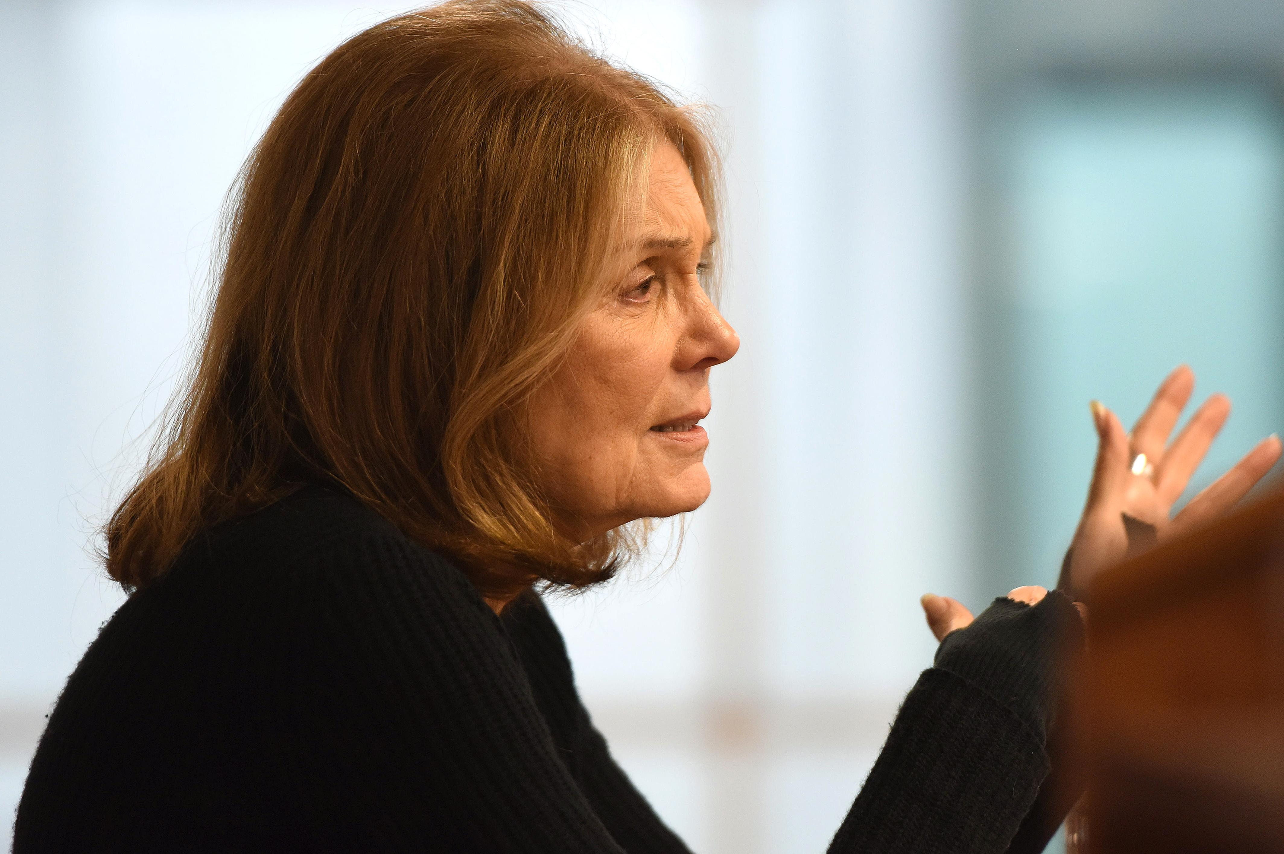 Gloria Steinem Visit