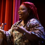 Leymah Gbowee visits Northeastern