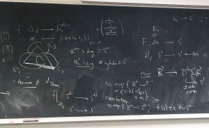"""Polevy's """"scratch work"""" while trying to construct a function showing that a fair division must exist."""
