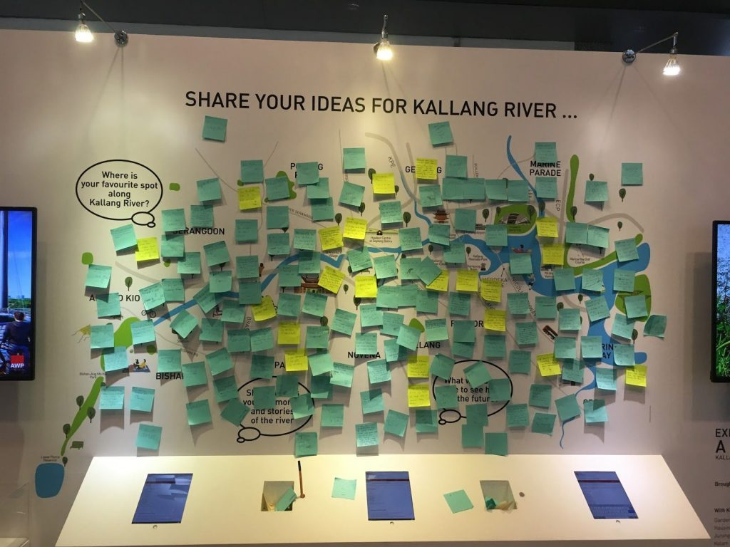 Kallang River Idea Board
