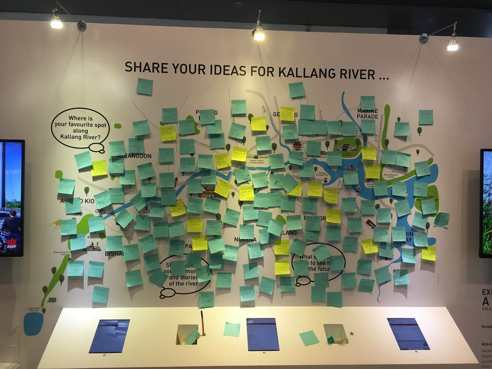 Kallang River Idea Board