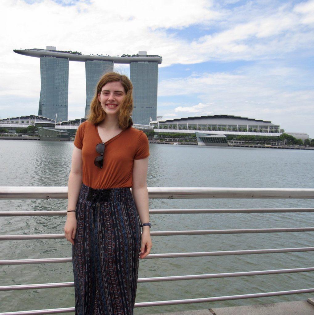 Caroline in Singapore