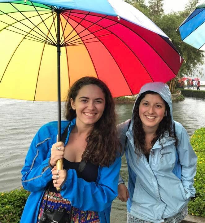 Elisa and Rachel