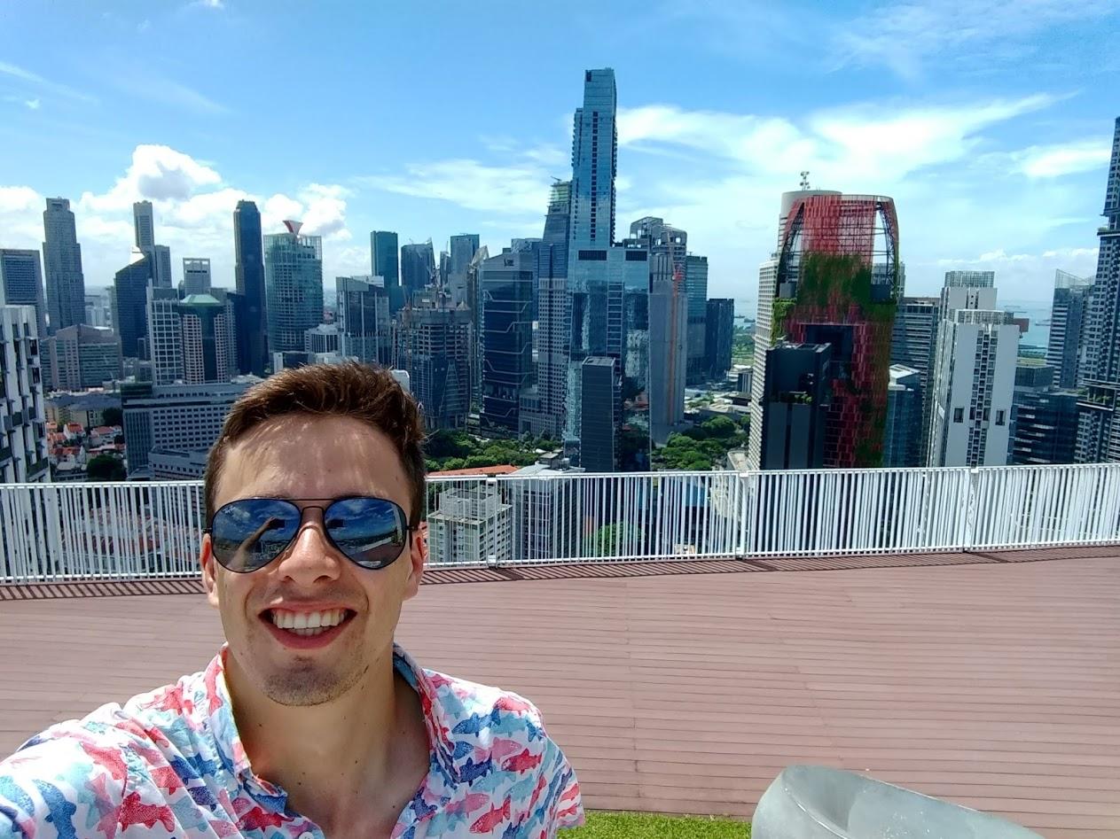 Ryan in Singapore