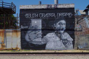 South Central Dreams mural in LA