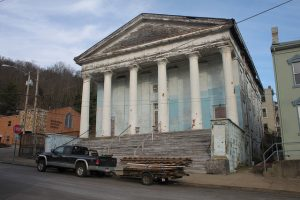 Abandoned WV church